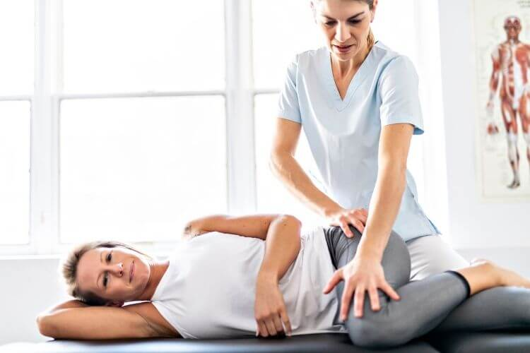 Pelvic physiotherapy