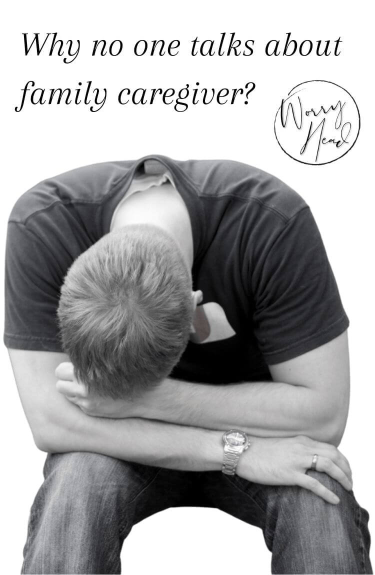 Why no one talks about family caregiver pin
