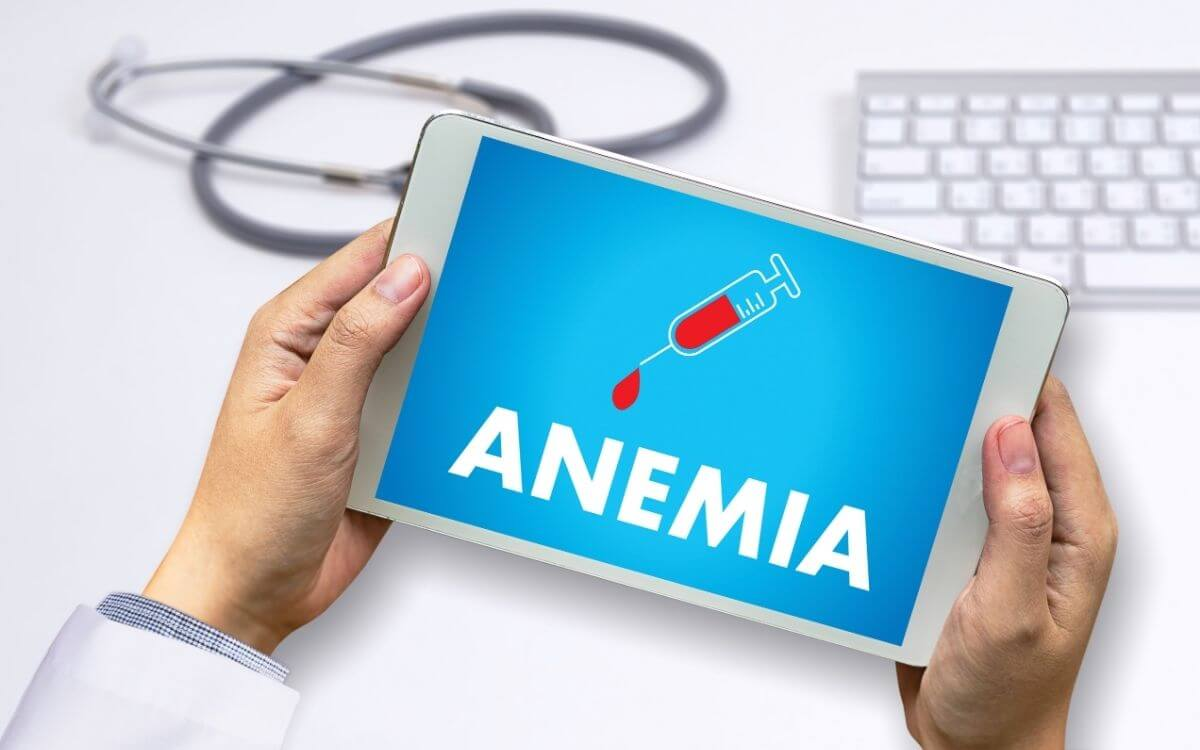 Endometriosis and severe anemia 1