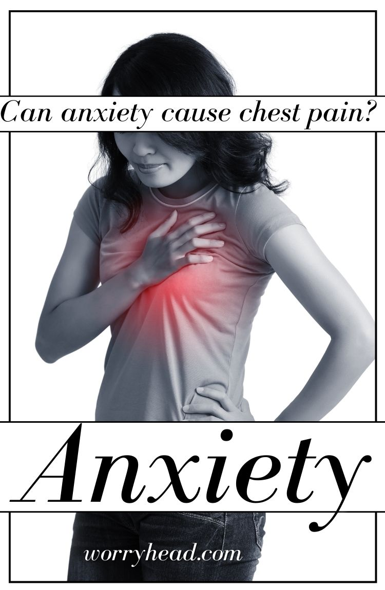 Can anxiety cause chest pain pin