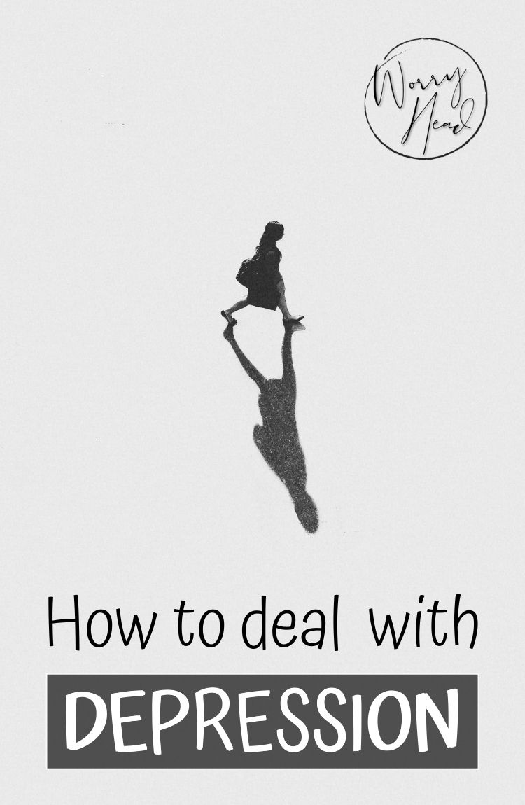 How to deal with depression pin